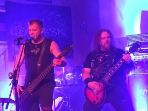 Band 'Basilisk' und 'Crystal Crow'